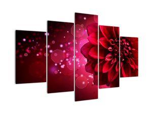 Piros virágok képe (V020807V150105)