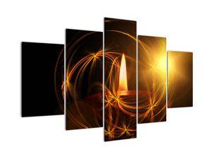 Obraz svíčky (V020812V150105)