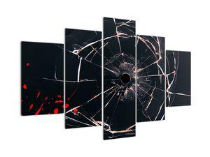 Abstraktný obraz - rozbité sklo (V020818V150105)