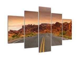 Obraz cesty v horách (V020843V150105)