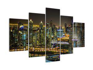 Obraz nočního města (V020847V150105)