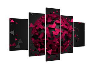 Tablou cu abstracție 3D (V020866V150105)