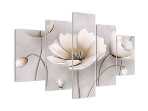 Tablou cu florile albe (V020898V150105)