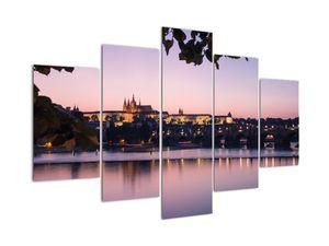 Obraz Pražského hradu a Vltavy (V020901V150105)