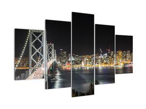 Obraz Brooklynského mostů a New Yorku (V020911V150105)