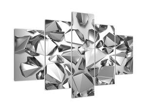 Tablou cu  abstracție 3D (V020935V150105)