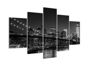 Slika Brooklynskega mosta v New Yorku (V020940V150105)