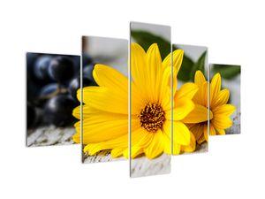 Tablou cu floare galbenă (V020952V150105)