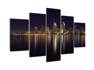 Obraz nočního města (V020967V150105)