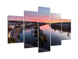 Obraz noční Prahy (V020968V150105)