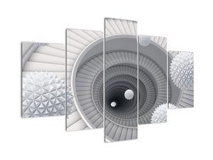 Tablou cu abstracție 3D (V020975V150105)