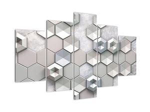 Obraz 3D abstrakcie (V020980V150105)