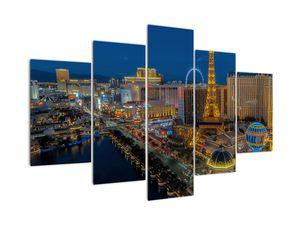 Obraz nočního Las Vegas (V021010V150105)