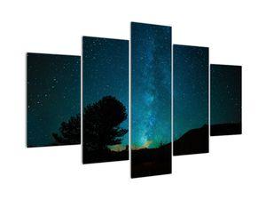 Obraz nočnej oblohy s hviezdami (V021100V150105)