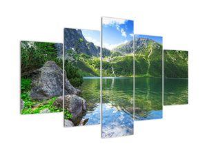 Slika jezera u Tatrama (V021101V150105)