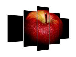 Tablou cu măr pe fundal negru (V021157V150105)