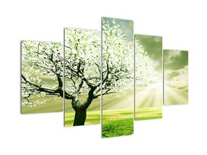 Slika stabla na livadi (V021282V150105)