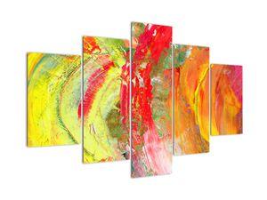 Obraz abstrakcie - maľba (V021285V150105)