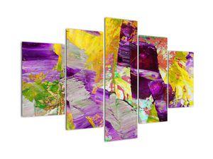 Obraz abstrakcie - maľba (V021289V150105)