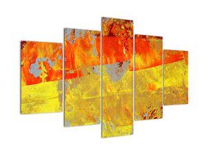 Obraz abstrakcie - maľba (V021291V150105)