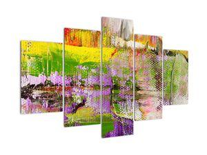 Obraz abstrakcie - maľba (V021292V150105)