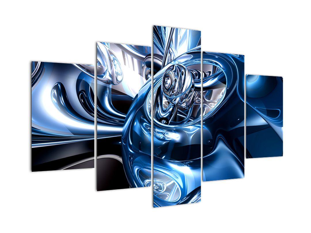 Obraz abstrake - kruhy (V021298V150105)