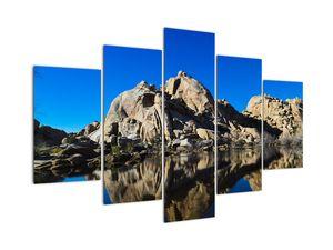 Obraz zrkadlenie skál (V021327V150105)