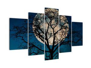 Obaz stromu s úplňkem (V021355V150105)