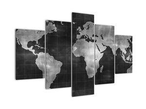 Obraz - Mapa světa (V021461V150105)