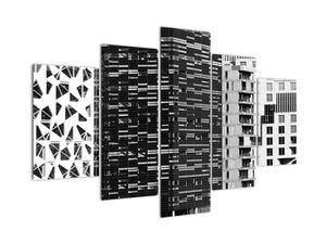 Slika crno-bijele arhitekture (V021524V150105)