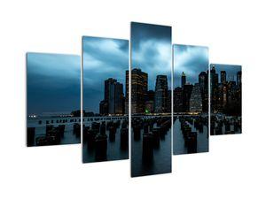 Slika - Pogled na nebotičnike v New Yorku (V021719V150105)