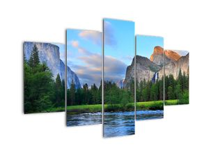 Obraz divoké horské krajiny (V021907V150105)