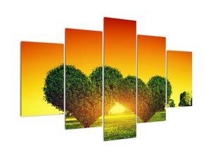 Obraz - Srdce v korunách stromů (V021930V150105)