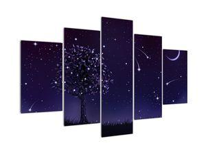 Obraz - Noc zachycená ilustrací (V021953V150105)