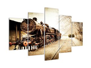 Kép - történelmi mozdony (V021959V150105)