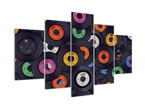 Tablou  - plăci de gramofon (V021962V150105)