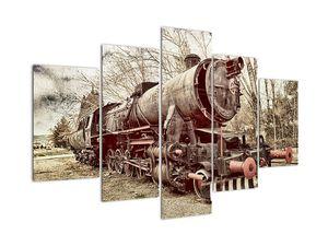 A mozdony történelmi képe (V021965V150105)