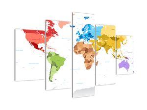 Obraz - Mapa světa (V021973V150105)