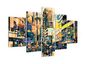 Obraz malované abstrakce (V021990V150105)