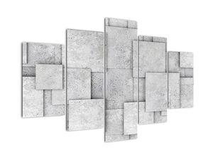 Obraz - Abstrakce betonových kachliček (V021997V150105)