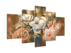 Tablou -Buchet de flori pictat (V022001V150105)