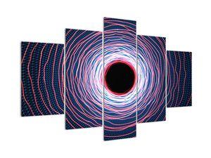 Obraz abstrakce kruhu (V022014V150105)