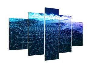 Kép - Hegyek egy számítógépes modellben (V022019V150105)