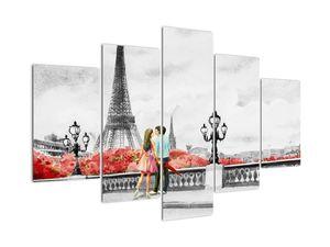 Obraz - Milenci v Paříži (V022029V150105)