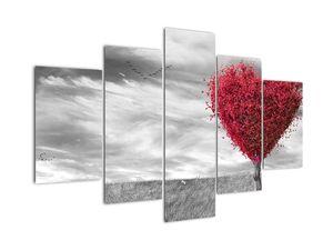 Tablou -Inima din coroanele copacilor (V022033V150105)