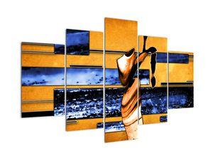 Obraz abstraktní malby (V022041V150105)