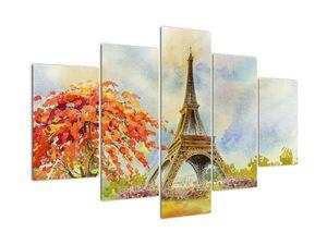Tablou pictat cu turnul Eiffel (V022082V150105)