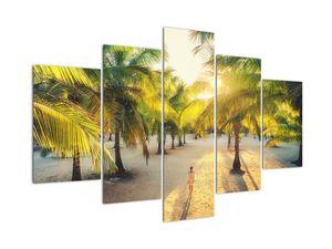 Obraz - Žena v palmách (V022165V150105)