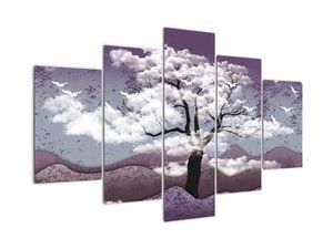 Bild - Baum und Wolken (V022184V150105)