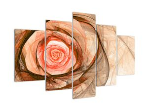 Slika - Vrtnica v umetniškem stilu (V022202V150105)